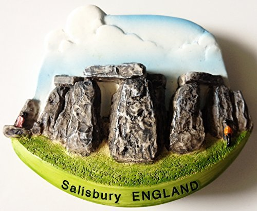 Stonehenge Salisbury ENGLAND Resin 3D fridge Refrigerator Thai Magnet Hand Made Craft. by Thai MCnets by Thai MCnets