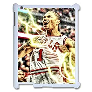 Unique Design Durable Hard Cover Case Cover for Ipad2,3,4 Phone Case - Derrick Rose HX-MI-111632