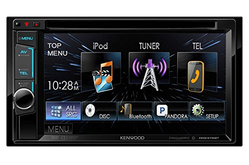UPC 045079401358, Kenwood DDX372BT 6.2 Inch Bluetooth 2-DIN In-Dash CD/DVD/AM/FM Receiver (Certified Refurbished)
