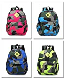 Skyflying Small Camouflage Human Engineering Large Lightweight Backpack for Kids in 3-year-old to 6-year-old
