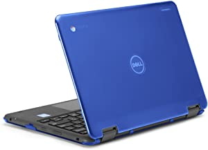 """mCover iPearl Hard Shell Case for 2017 11.6"""" Dell Chromebook 11 3189 Series 2-in-1 Laptop (NOT Compatible with 210-ACDU / 3120/3180 Series) - 3189 Blue"""