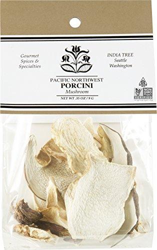 India Mushrooms - India Tree Porcini Mushrooms, .35 oz (Pack of 3)
