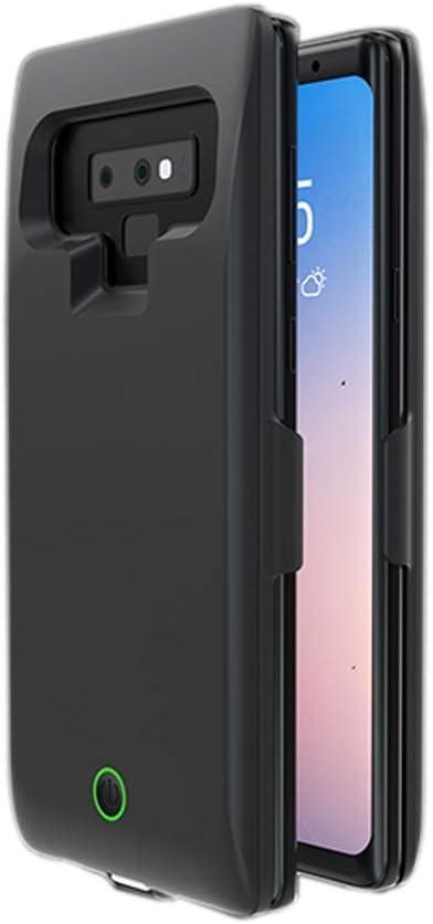Samsung Galaxy S9Plus - Carcasa para Samsung Galaxy S9 Plus (7000 mAh, Puerto USB Externo, Cargador portátil para Samsung Galaxy S9 Plus/S9+) Negro: Amazon.es: Electrónica