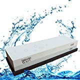 Knife Sharpening Stone 2 Side Grit 400/1000 Whetstone for Sharpening & Honing Waterstone Best for Chisel & Hand Tools Kitchen Outdoor/Survival Knife Sharpener