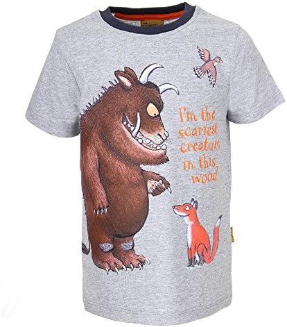 Gruffalo Niños Camiseta, Gris Vigore Claro, Talla 128, 8 años: Amazon.es: Ropa y accesorios
