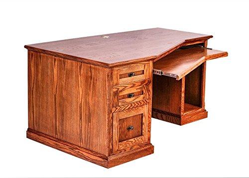 Forest Designs FD-1054- MC-MO Mission Angled Computer Desk, 60