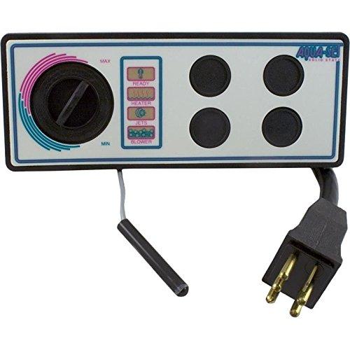 - Len Gordon 930750-516 Aquaset 4001-4SS 115V 4-Button 10' Cord Topside Control
