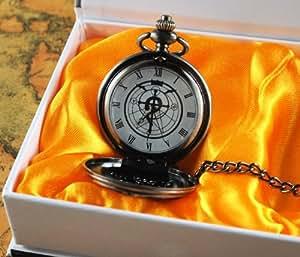 Topbill Fashion Style Fullmetal Alchemist Edward Pocket Watch Cosplay