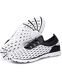 Alibress Water Shoes Quick Dry Sports Aqua Shoes-Breathable Lightweight for Swimming Yoga Beach Driving Boating Pool Exercise
