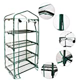 PVC Clear Greenhouse Mini Household Plant Cover Warm Garden Tent for Indoor Outdoor Seeds Herb...