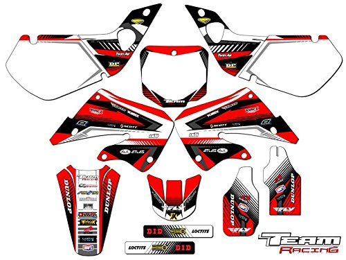 Team Racing Graphics kit for 1997-1999 Honda CR 250R, ANALOG