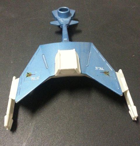 STAR TREK Klingon Battle Cruiser War Ship Disc Shooter 1977