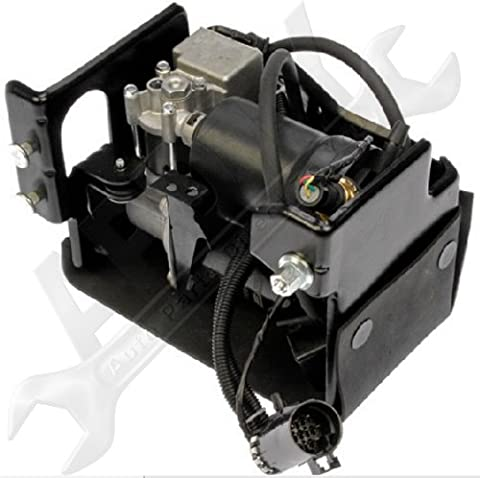 APDTY 050111 Air Ride Suspension Compressor w/Dryer & Steel Housing (Complete Plug-n-Play Assembly For Active Air Suspension Systems Replaces GM Part #: - Ride System