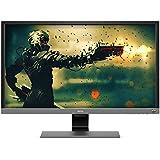 BenQ EL2870U 28 inch 4K HDR Gaming Monitor, 1ms 3840x2160, Free-Sync Eye-Care, Anti-Glare, Brightness Intelligence Plus, HDMI, DP, Built-in Speakers