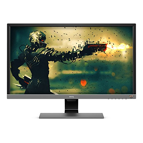 BenQ EL2870U 28 inch 4K HDR Gaming Monitor, 1ms 3840x2160 , Free-Sync Eye-Care, Anti-glare, Brightness Intelligence Plus, HDMI, DP, Built-in Speakers