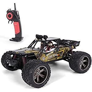 GPTOYS S916 RC Car 26Mph Remote Control Truck 1/12 Scale 2.4 GHz 2WD Waterproof Off-road Monster Car-Best Gift for Kids and Adults (New Version)