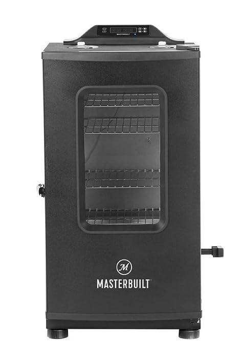 Masterbuilt MB20073519 MES 130P Bluetooth Digital Electric Smoker, Black