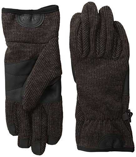 (Timberland Men's Ribbed-Knit Wool-Blend Glove with Touchscreen Technology)