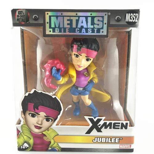 VIET FG 4'' Cartoon Figure Model Toys X-Men Wolverine,Mystique,Magneto,Storm,Psylocke 10Cm Metal Figure Model Toy for Gift -Complete Series Merchandise]()