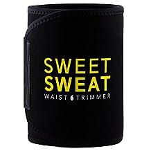 Sweet Sweat Premium Waist Trimmer for Men & Women. Includes Free Sample of Sweet Sweat Workout Enhancer!