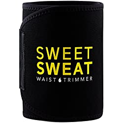 Sports Research Sweet Sweat Premium Waist Trimmer, for Men & Women ~ Includes Free Breathable Carrying Case! (XX-Large)