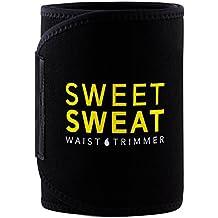 Sweet Sweat Premium Waist Trimmer, for Men & Women. Includes Free Sample of Sweet Sweat Gel!