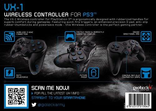 PS3 VX-1 Wireless Controller