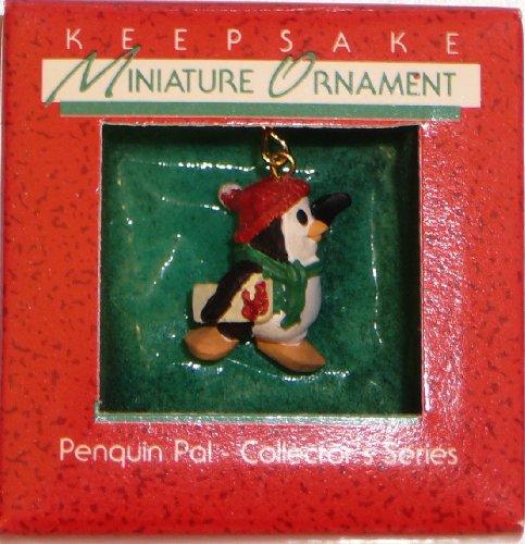 Hallmark 1988 Vintage Keepsake Miniature Ornament Penguin Pal Collector's Series in Box
