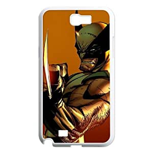 Wolverine Samsung Galaxy N2 7100 Cell Phone Case White mqf