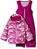 Columbia Little Girls' Frosty Slope Set, Hydrangea Dot Print, X-Small