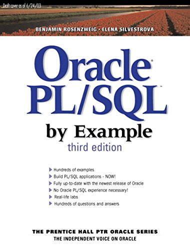 Oracle PL/SQL by Example (3rd Edition) by Prentice Hall