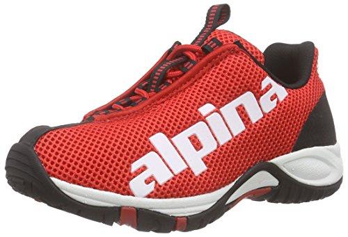Alpina 680267 - zapatillas de trekking y senderismo de media caña Unisex adulto Rot (Red)