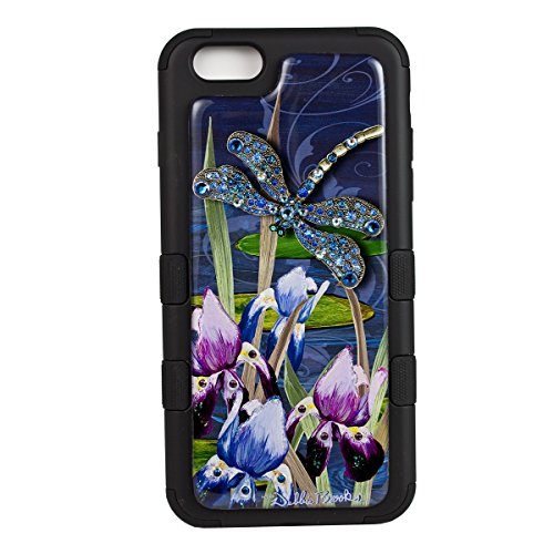 6SCase.com-16710-iPhone 6/6S Plus Cover- TUFF Case- Blue Dragonfly-B00WF8APTQ