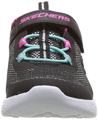Bkmt Negro 600 Sparkle Skechers Go Run 82008l Runner 6q7Zw8O