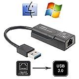 UniLink (TM) USB 3.0 to 10/100/1000 Gigabit Ethernet LAN Network Adapter, USB3.0 to RJ45