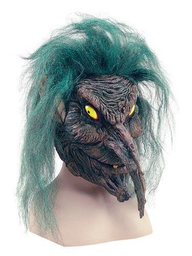 Tree Sprite Scary Halloween Adult Rubber Fancy Dress Mask by Parties (Sprite Halloween)
