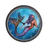 CafePress – Mermaid – Unique Decorative 10″ Wall Clock Review