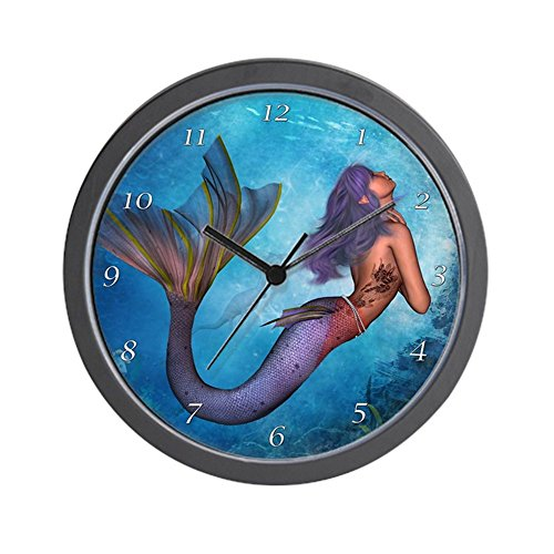CafePress – Mermaid – Unique Decorative 10″ Wall Clock Review