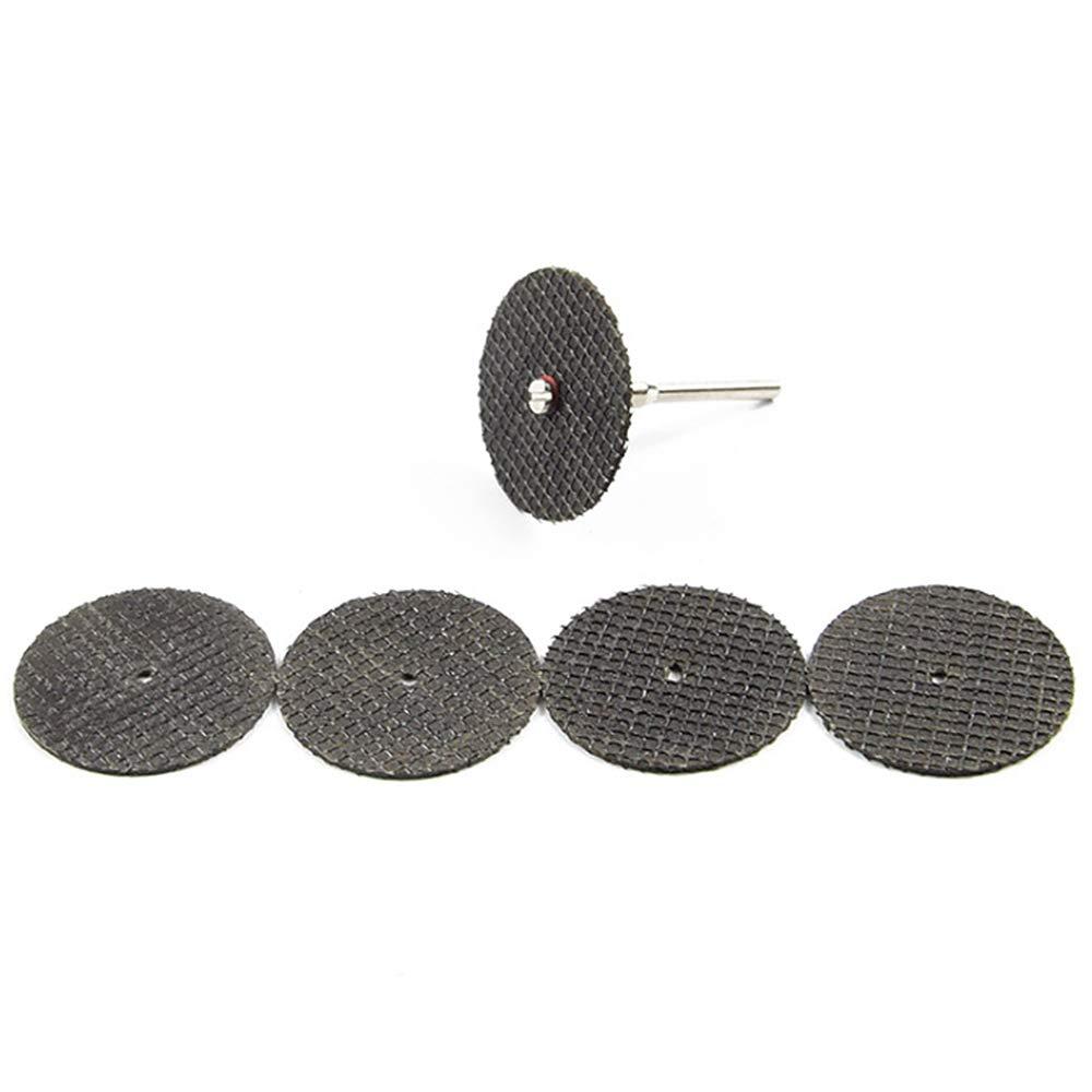 60 dischi da taglio per smerigliatura mini trapano fai da te in metallo e legno Asdomo