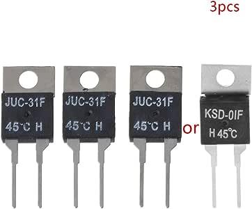 LANDUM KSD-01F H45C - Interruptor de termostato con Control de ...