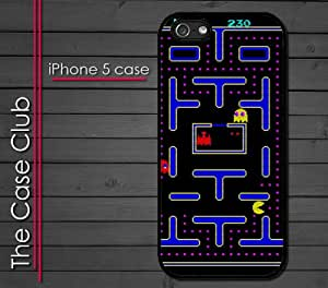 iPhone 5C (New Color Model) Rubber Silicone Case - Pac Man Retro Old School Original Version Style PacMan