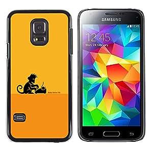 Stuss Case / Funda Carcasa protectora - Monkey Business Writer - Samsung Galaxy S5 Mini, SM-G800