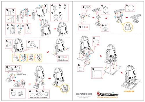 032309012507 - Fascinations Star Wars R2D2 Model Kit Metal Earth Fascinations carousel main 4