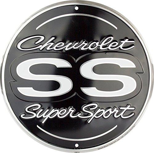 HangTime Chevrolet SS Super Sport 12 inch Round Aluminum Sign
