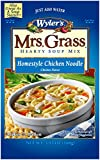 Mrs.Grass Hearty Soup Mix Homestyle Chicken Noodle, 5.93 oz