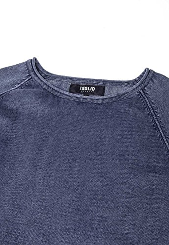 Insignia 1991 Bleu solid B Blue insignia Pull Homme Malvin Knit wnqCa8