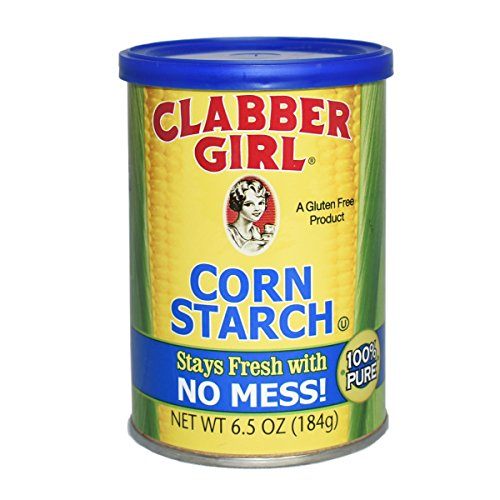 (Clabber Girl Corn Starch - Gluten Free, Vegan, Vegetarian, Thickener for sauce, soup, gravy in a Resealable Can - 6.5 oz can)
