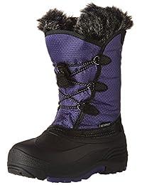 Kamik Kids' Powdery Waterproof Winter Boot, Purple, 2 M US Little Kid