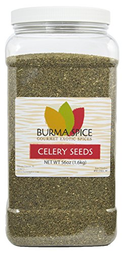 Celery Seeds, Whole (56oz.) by Burma Spice