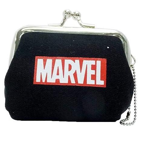 Amazon.com: MARVEL logotipo minipretera monedero [46789 ...